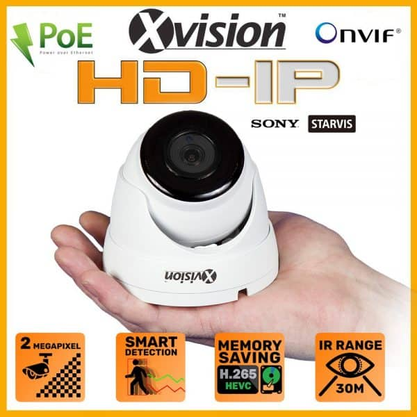 Xvision bezpecnostna kamera X2C2000V-W