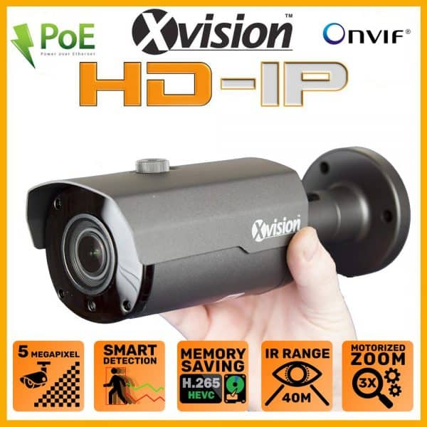 Xvision X2C5000BM-W varifokalna kamera
