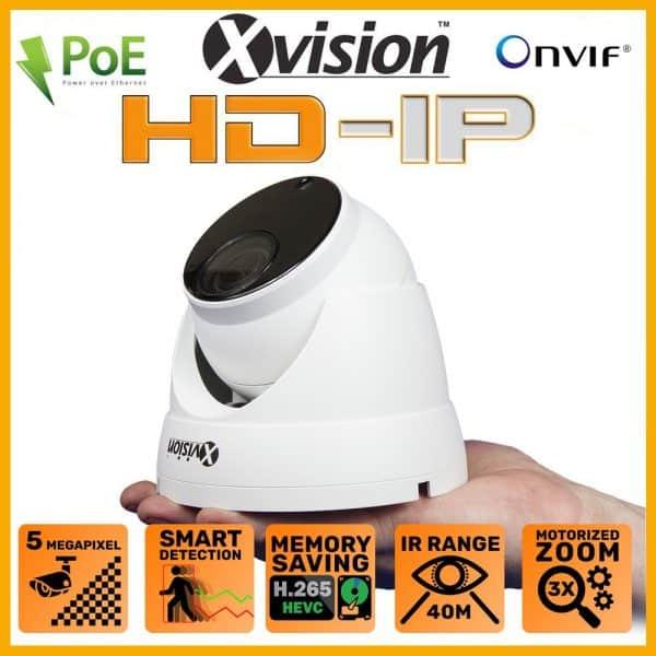 Xvision varifocal kamera X2C5000VM-W
