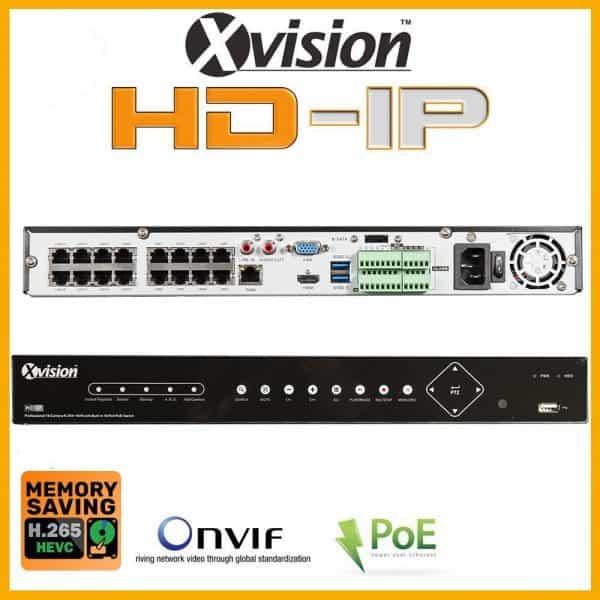 Nvr rekorder 16 kanalovy xvision X2R16N-2