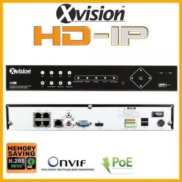 NVR rekorder Xvision X2R4N-2