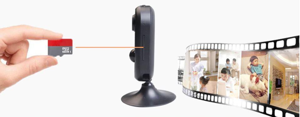 kamera na pamäťovú kartu