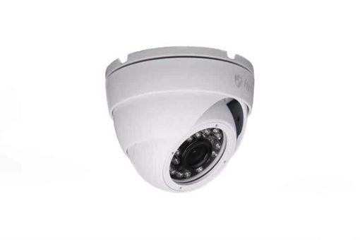Hystrix bezpečnostná kamera DOME biela