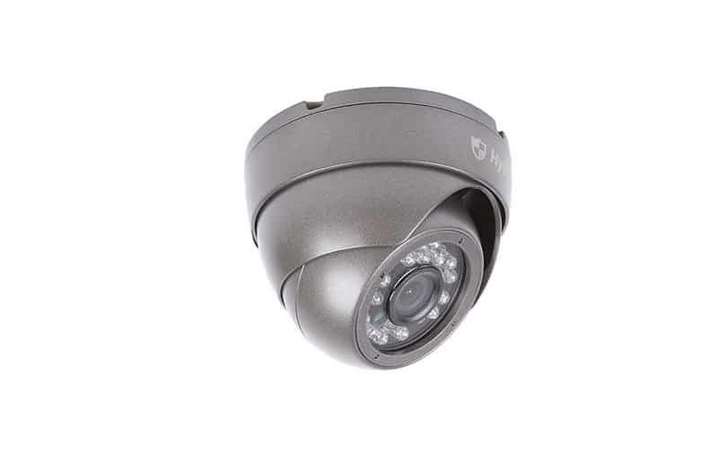 Hystrix bezpečnostná kamera DOME sivá čierna