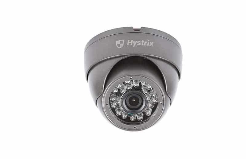 Hystrix bezpečnostná kamera DOME čierna