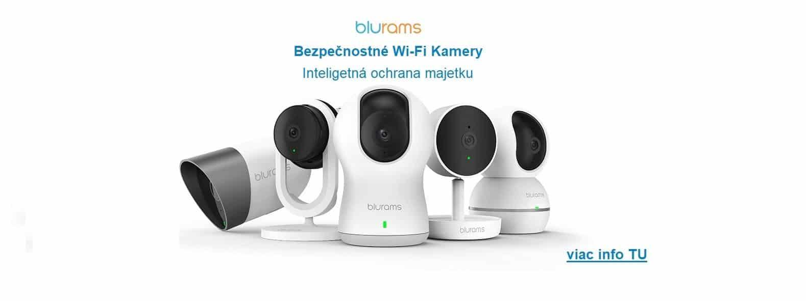 WiFi kamery Blurams