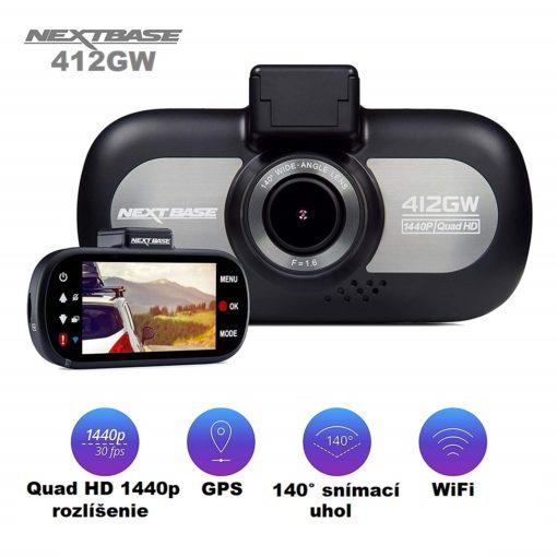 Kamera do auta Nextbase 412GW