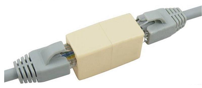rj45 spojka pre UTP / FTP káble s rj45 koncovkami