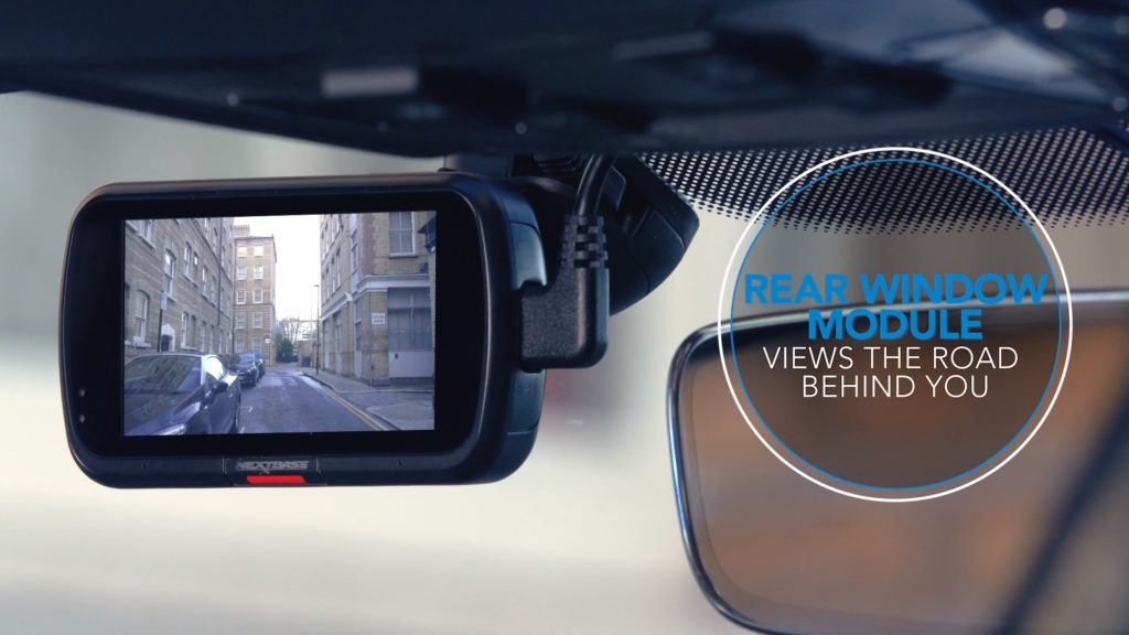 Nextbase Rear Window Camera monitoruje priestor za vozidlom
