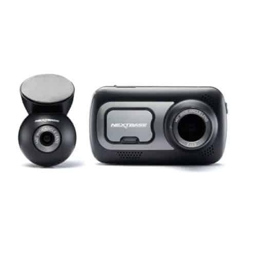 Zvýhodnená sada autokamery Nextbase 522GW spolu so zadnou kamerou do auta